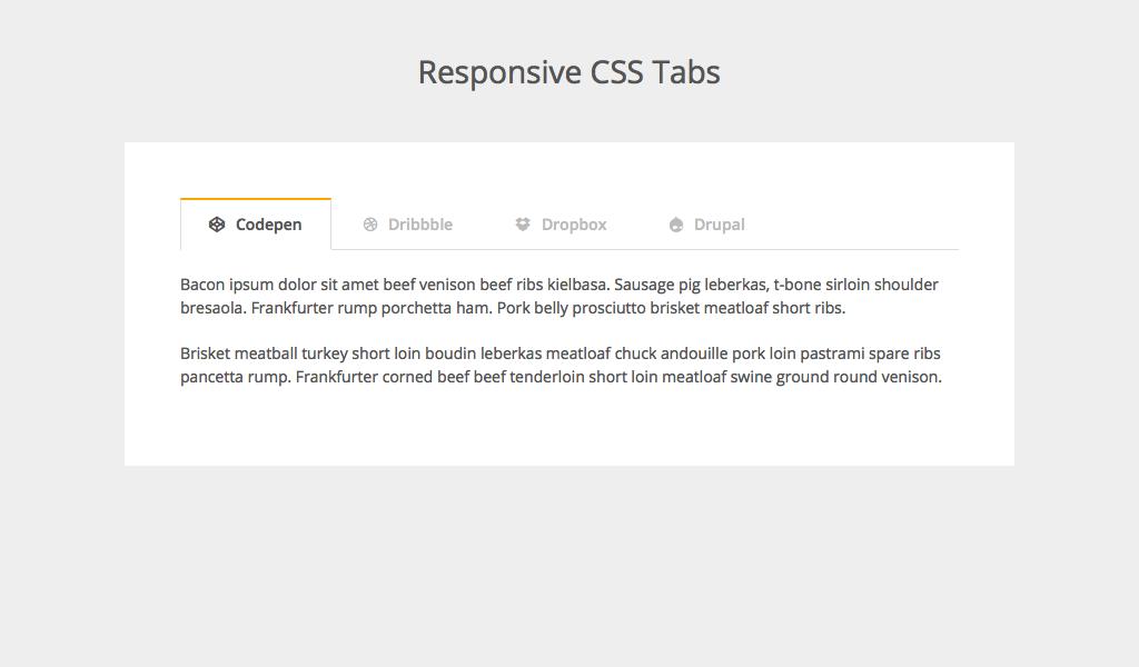 Añadir contenido, tabs